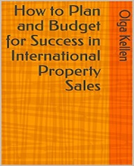 international property sales how to plan and budget for success